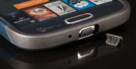 Samsung s4 Dust plug black