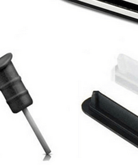 iPhone 4 dust plug set