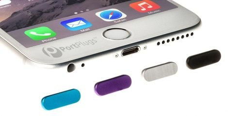 Aluminum dust plug colors for iphone