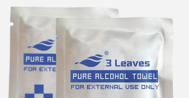 alcohol cleaning cloth