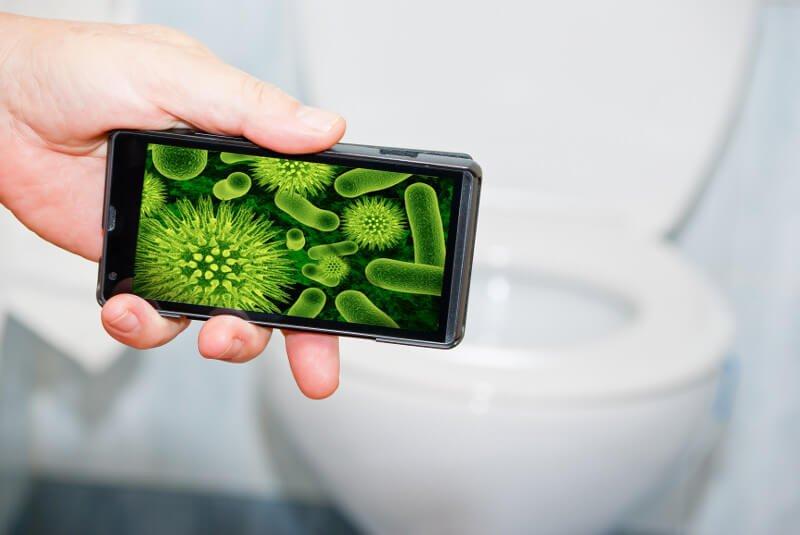 germ free smart phone
