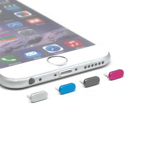 iphone 6 aluminum dust plugs