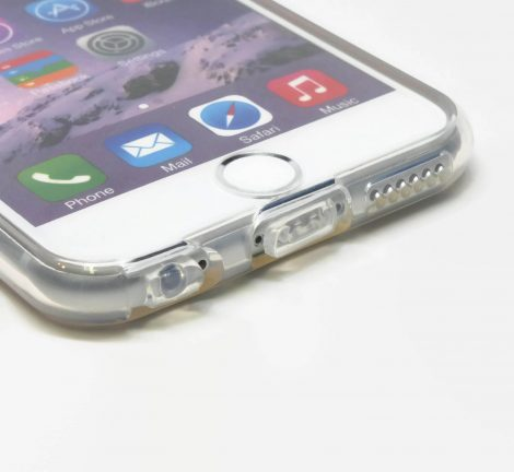 Transparent iPhone 6 case