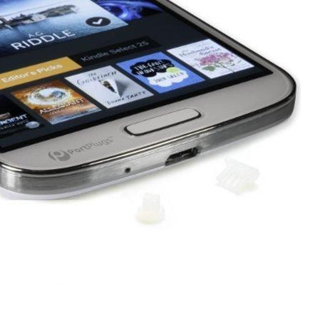 clear micro usb plugs