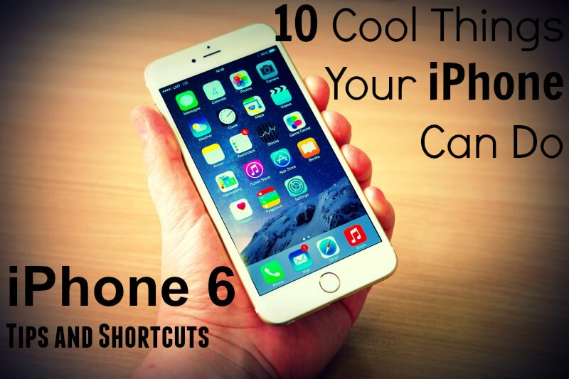 iphone 6 tips and shortcuts, by PortPlugs, the dust plug, port cover, and smartphone accessory authority