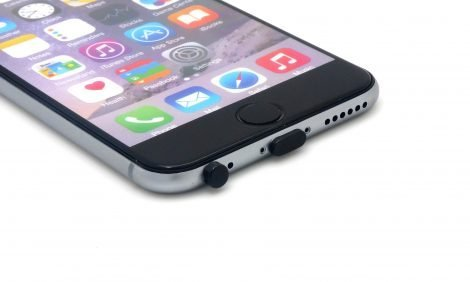 dust plugs for iphone black