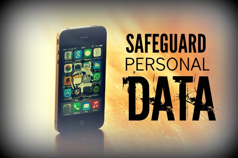 Safeguard Personal Data, tips from PortPlugs, the dust plug, port cover, and smartphone accessory authority