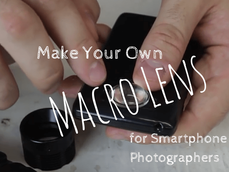 Macro Lens For Smartphone Photographers, brought to you by PortPlugs, the dust plug, port cover, and smartphone accessory authority
