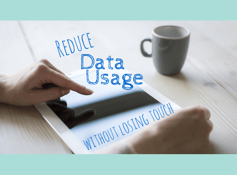 Reduce Data Usage, by PortPlugs, the dust plug, port cover, and smartphone accessory authority