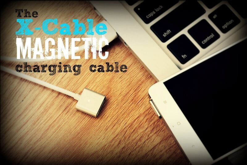 Anti-dust plug and magnetic break-away charging cable