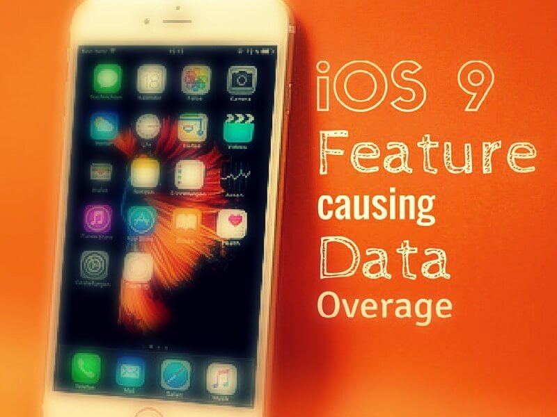 One iOS 9 Feature has been causing spikes in data usage.