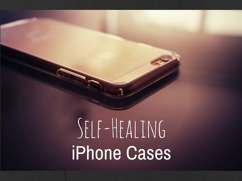Imagine a protective smartphone case that can heal scratches over time.