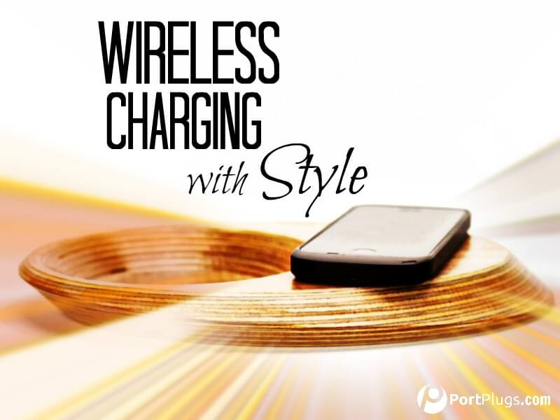 Portable wireless phone chargers, like these by Pond, are just as stylish as your smartphone.