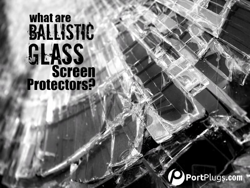 Screen protectors made from ballistic glass will protect your screens from shattering.