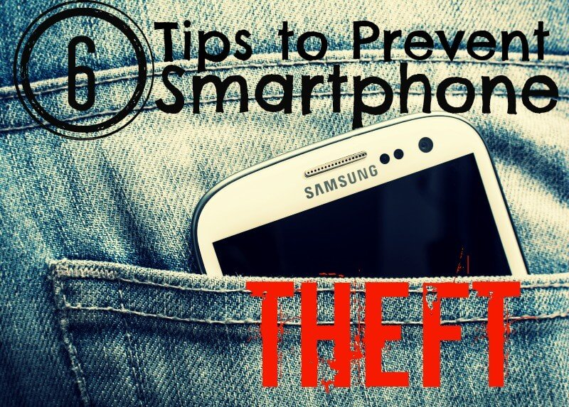 Prevent Smartphone Theft, tips by PortPlugs, the dust plug, port cover, and smartphone accessory authority