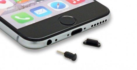 Black iphone 6 dust plugs_wide