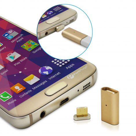 magnetic charging adapter for android