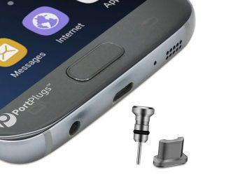 Android dust plug aluminum
