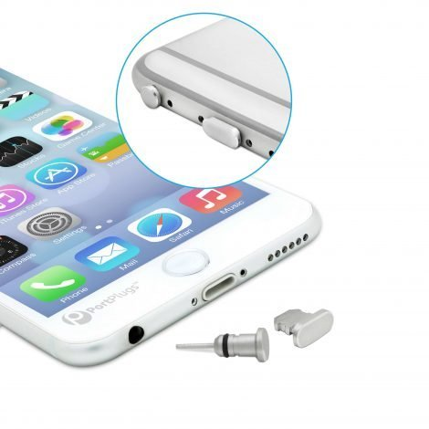 iphone dust plugs gun metal